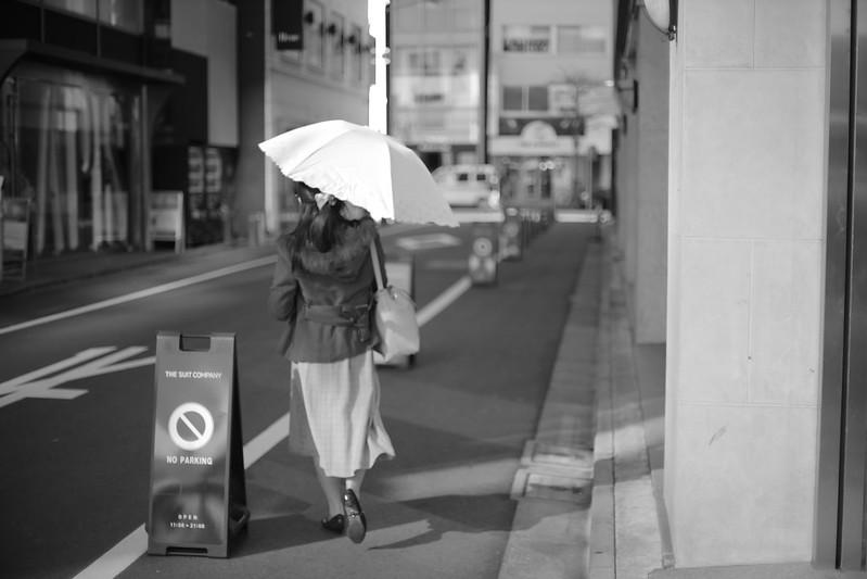 Lady at Ginza.TOKYO