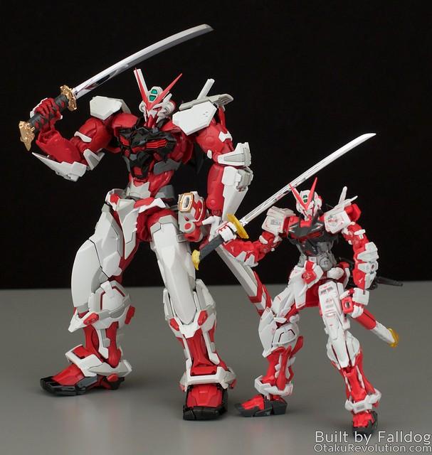 HiRM Astray Red Frame Gundam 18