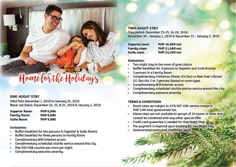Holiday Inn Baguio City Centre Promotions