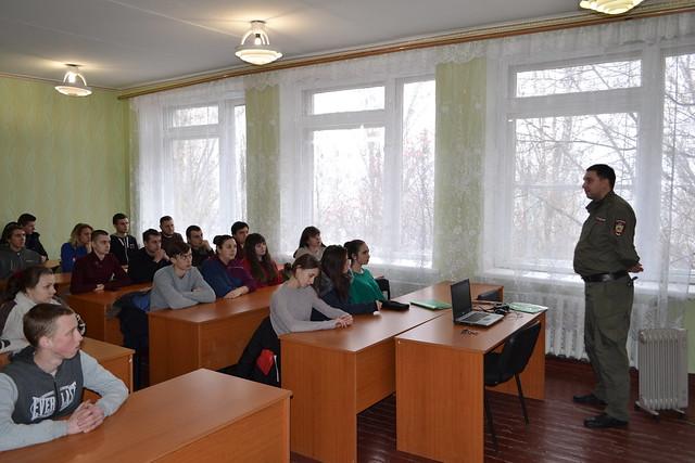 Встреча студентов с представителями  правоохранительных органов