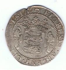1686 Netherland 14 Stuivers reverse