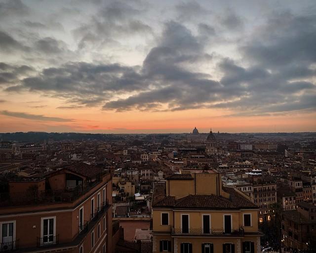 Sunset Rome