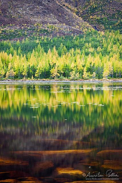 Parc National de la Gaspésie, Automne au lac du Diable