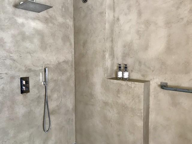 Inloopdouche beton cire