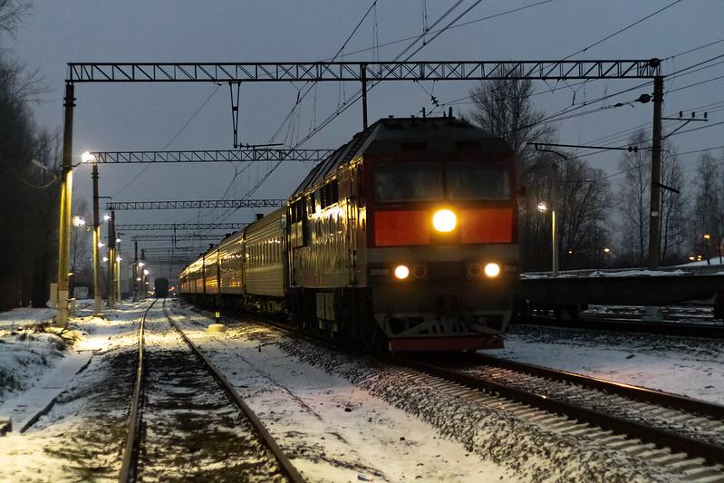 ТЭП7-0361, станция Царское Село