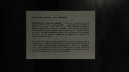 GMBC notice of recording Jan19