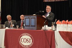 COST's Town Crier Award was established to recognize and honor state lawmakers, municipal officials, and others who have distinguished themselves as outstanding advocates on issues affecting Connecticut's small towns.