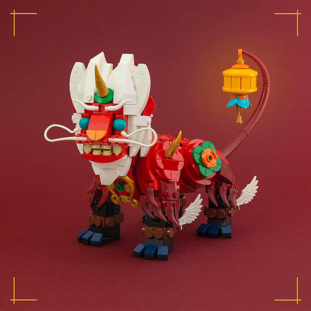 The Nian beast roams again this Lunar New Year