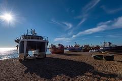 Fishing Boats Hastings Beach
