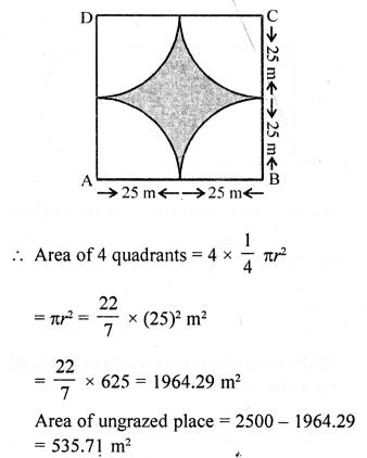 RD Sharma Class 10 Solutions Chapter 15 Areas related to Circles