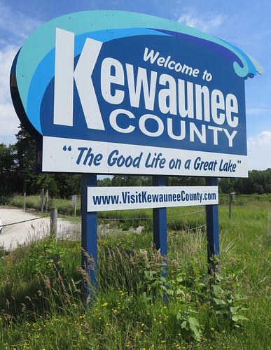 Welcome to Kewaunee County Sign (Kewaunee County, Wisconsin)
