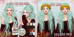 .Olive. the Ave & Eva Hair Gacha @ Epiphany