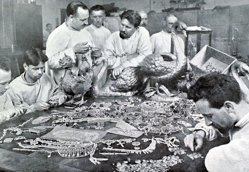 1925. Инвентаризация ценностей принадлежащих князю Юсупову