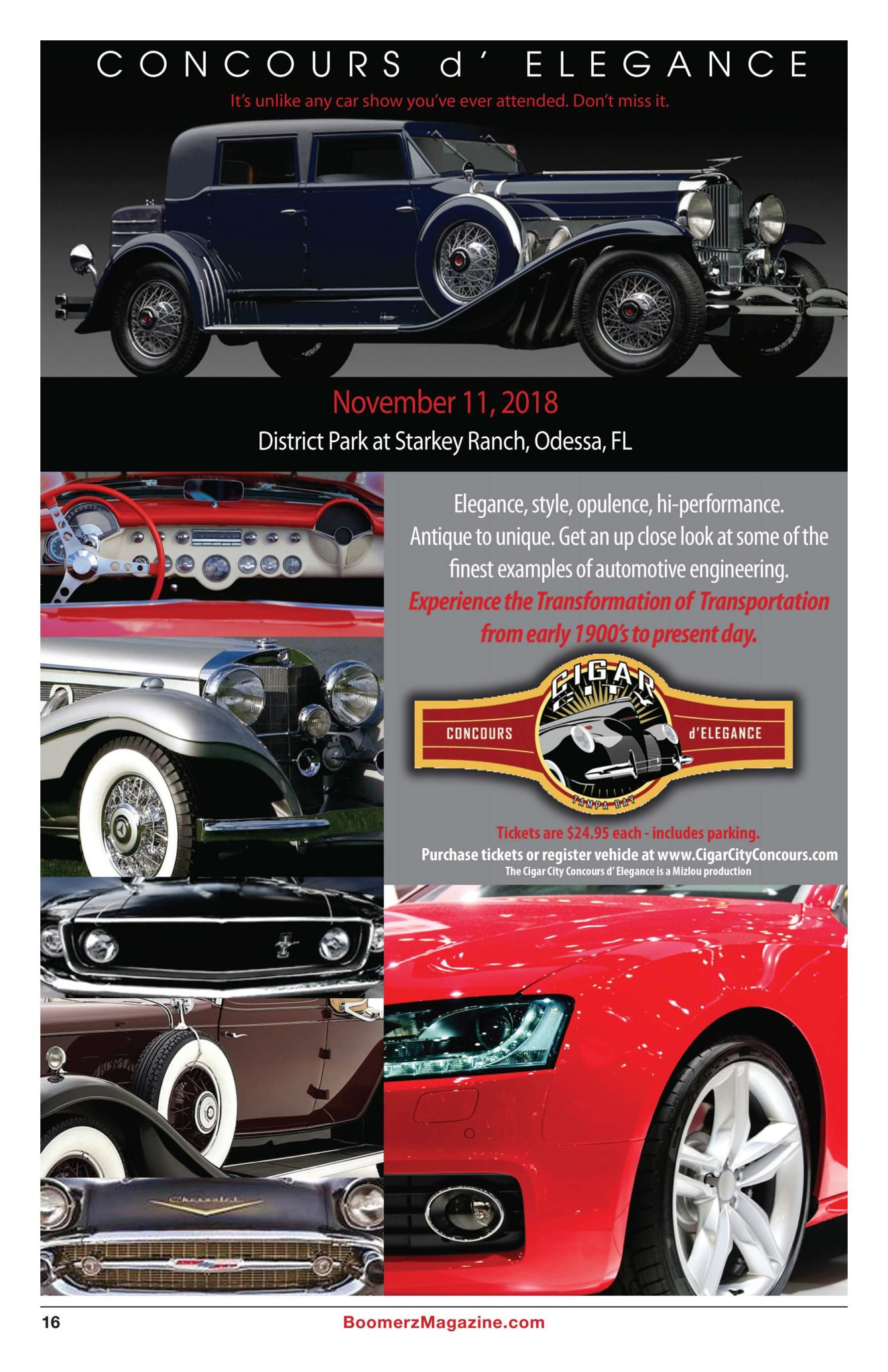 Boomerz Magazine 2018 November Cigar City Concours
