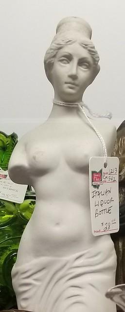 vintage nude statue