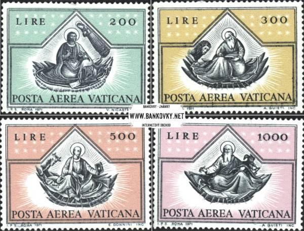 Známky Vatikán 1971 Evanjelisti