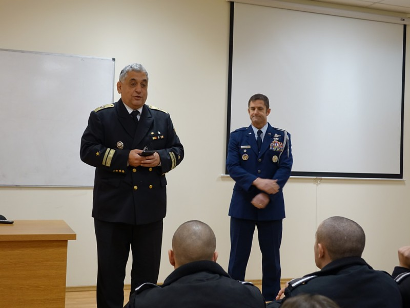 U.S. Defense Attaché Visits Varna Naval Academy