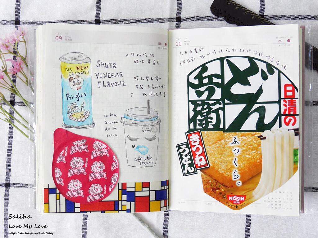 手帳日記裝飾分享紙膠帶設計水彩遊記 (17)