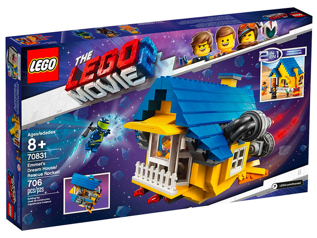 LEGO Movie 2 70831 Emmet's Dream House Rescue Rocket 02