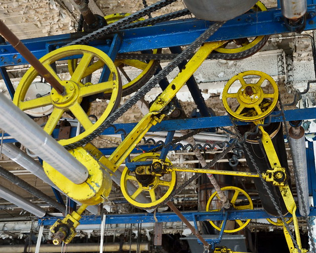 Yellow Pulleys