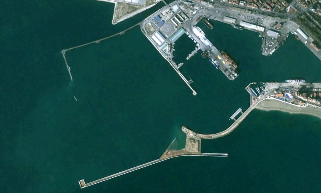 terminal de contenedores del puerto de málaga, málaga, mi PFC, antes, urbanismo, planeamiento, urbano, desastre, urbanístico, construcción
