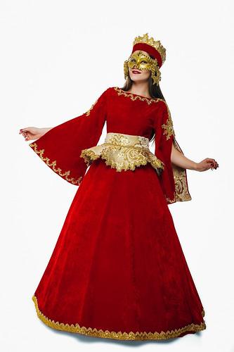 Женский карнавальный костюм Венецианский