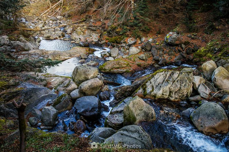 Río Joèu a la altura del Guardader dera Aigua