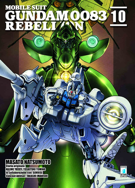 Gundam 0083 Rebellion Vol 10 Italian Edition