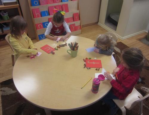 making letter books