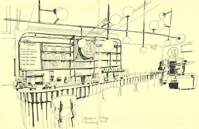 Brasserie Le Tigre - Le bar