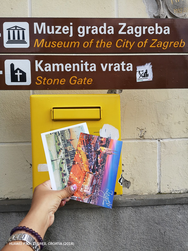 2018 Croatia Zagreb Postcards