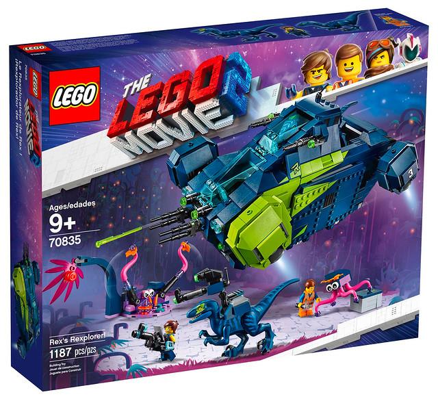 LEGO Movie 2 70835 Rex's Rexplorer 01