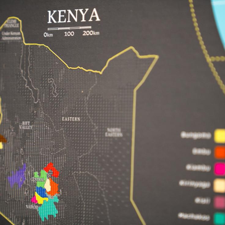 Bản đồ cà phê thế giới - World Coffee Map (4)