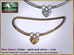Bliensen - Mon Coeur - Collar