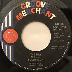 BUDDY RICH:THE BULL(LABEL SIDE-A)