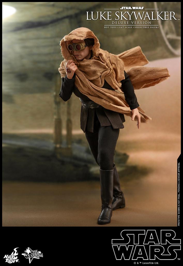 除了恩多星、死星造型,還能再現被刪減的塔圖因沙塵暴場景!! Hot Toys – MMS517 -《星際大戰六部曲:絕地大反攻》路克·天行者 (豪華版) Luke Skywalker (Deluxe Version) 1/6 比例人偶作品