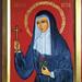 2019. Icône de Sainte Rita Icon.  Main de - Hand of Dina Phares