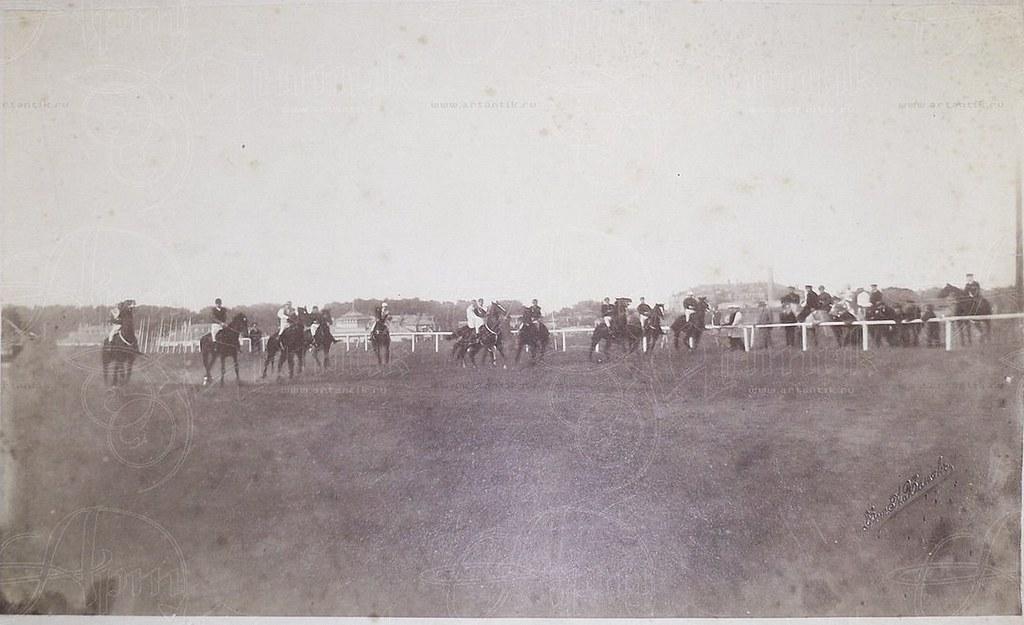 1905. Москва. Старт Всероссийского Дерби