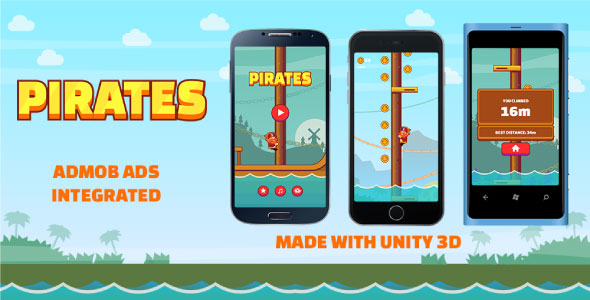 The Pirates - Unity 3D