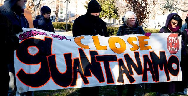 Guantanamo Bay protest