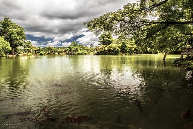 Kasumigaike Pond, Kenrokuen Garden - Kanazawa (Japan)