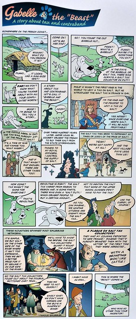 Comic about salt, taxes, and French history - Part I