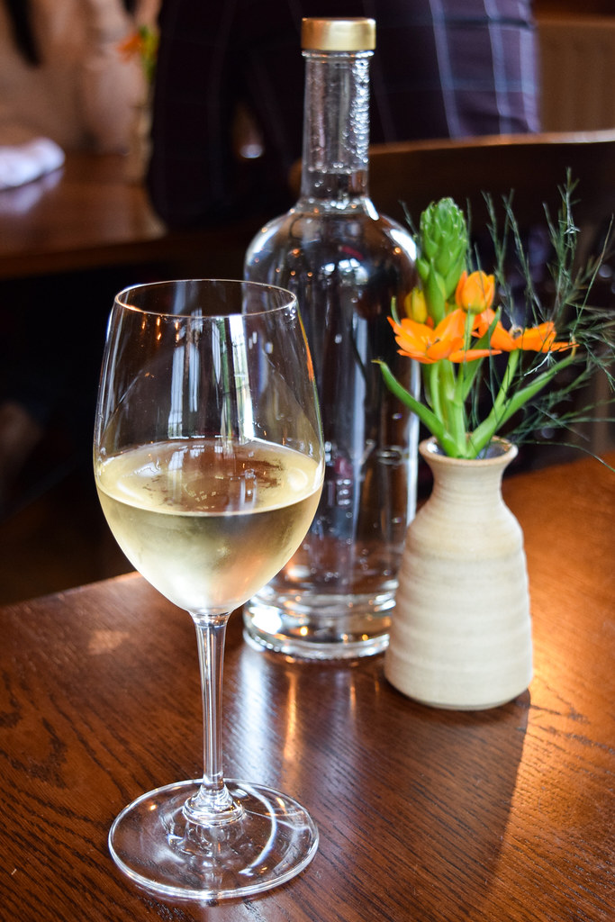 Berry Bros White Wine at the Fordwich Arms, Canterbury
