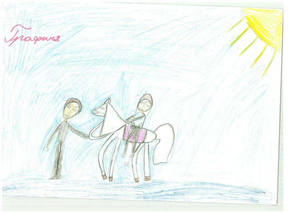 Дети Лермонтовской школы побывали на экскурсии в конюшне музея-заповедника.Занятия с детьми провела Виктория Панурина