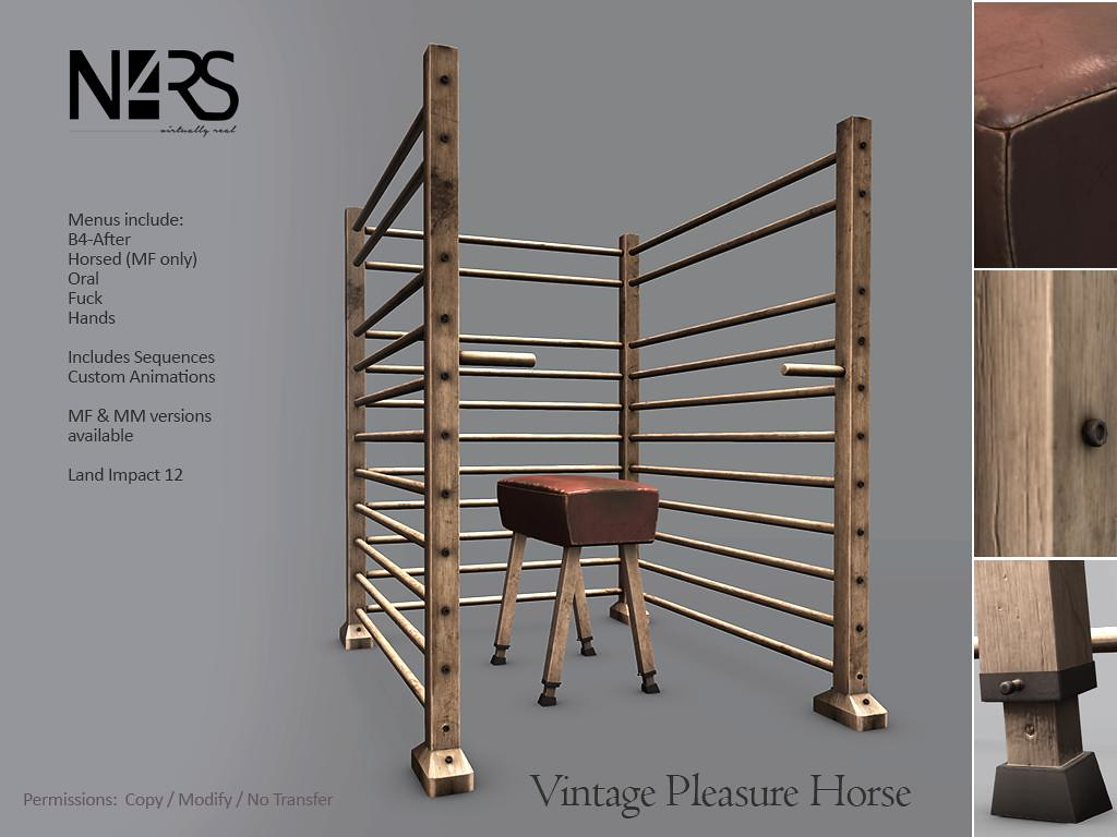 N4RS Vintage Pleasure Horse