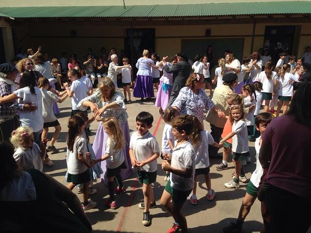 Festejor por el día de la Tradición en Colegio Horizonte