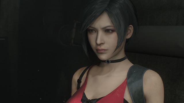 Resident Evil 2 - Ada Face Closeup