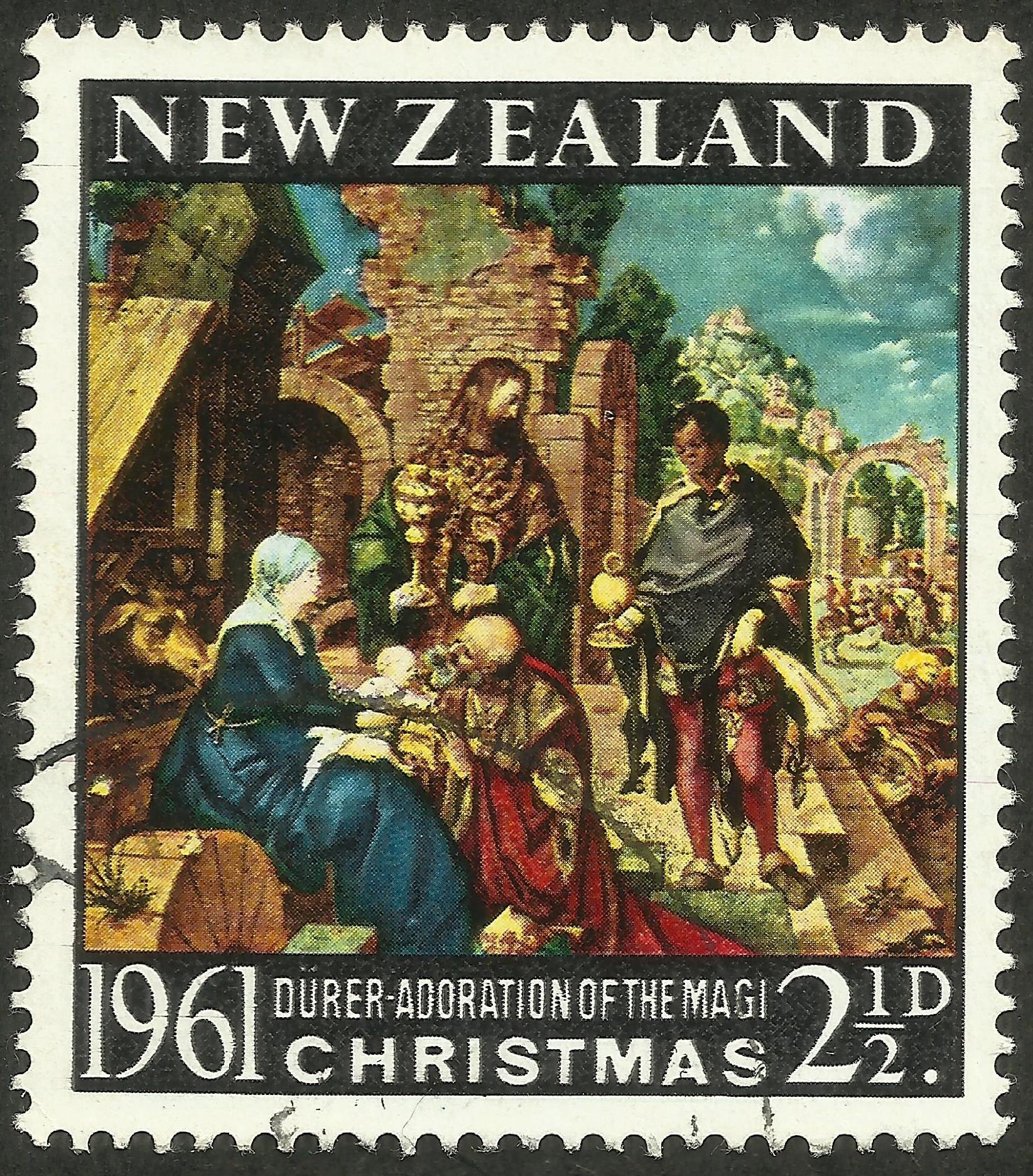 New Zealand - Scott #355 (1961)