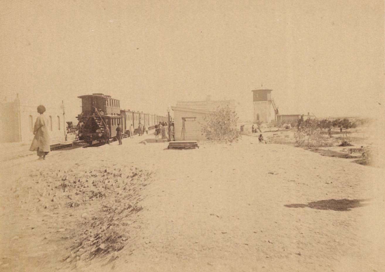 Станция Транскаспийской железной дороги