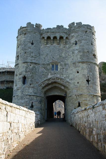Carisbrooke Castle, Nikon D7200, AF-S DX VR Zoom-Nikkor 16-85mm f/3.5-5.6G ED
